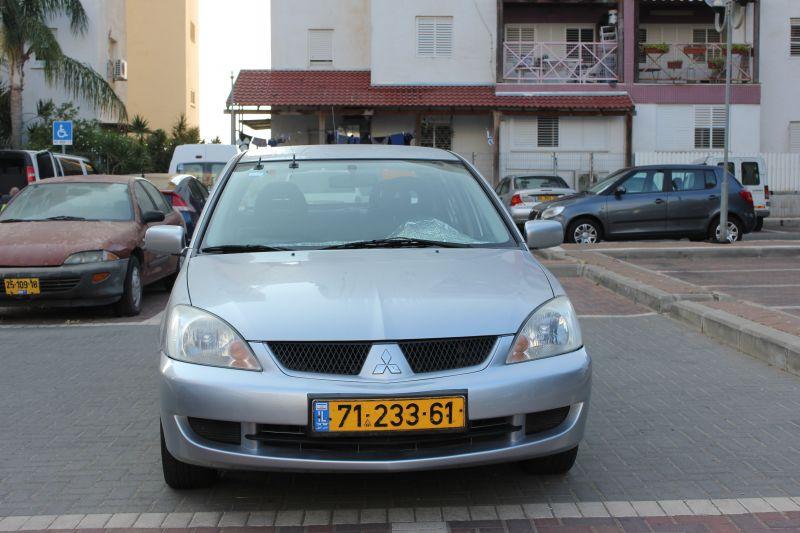 אולטרה מידי נמכרת: מיצובישי לנסר 2007 EV-34